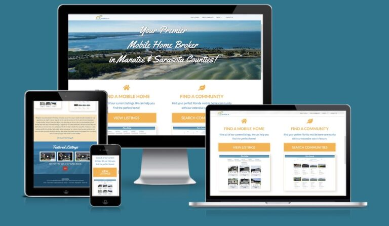 Mobile Home Community Websites