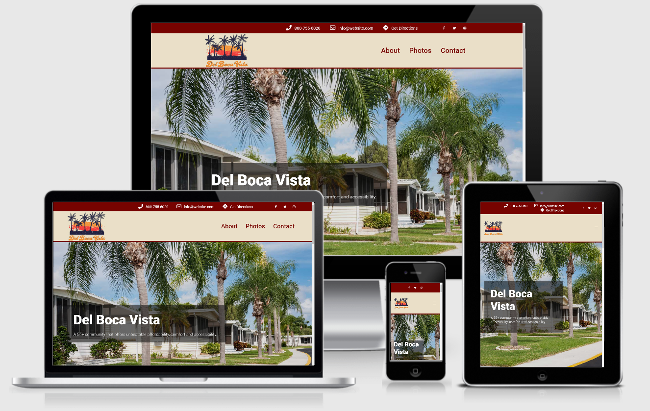 Manufactured Home Community Websites