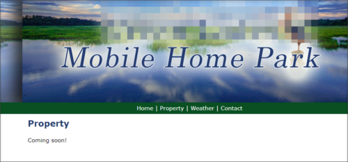 Available Homes Page Out-of-Date
