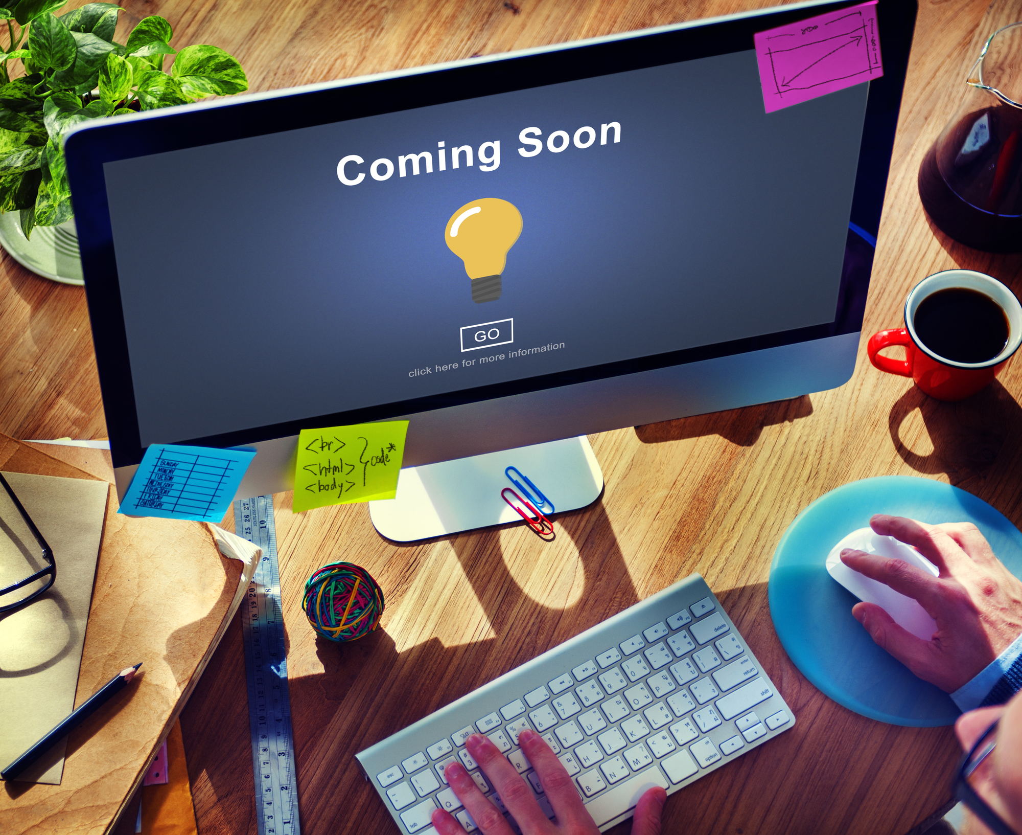 Coming Soon Opening Promotion Announcement No Business Website MHC Websites